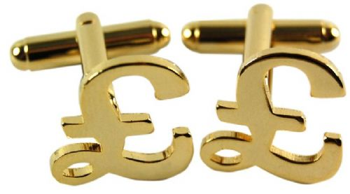 Novelty 'Pound Sign' Cufflinks For Men